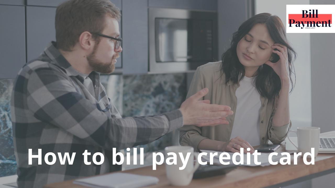 how to bill pay credit card